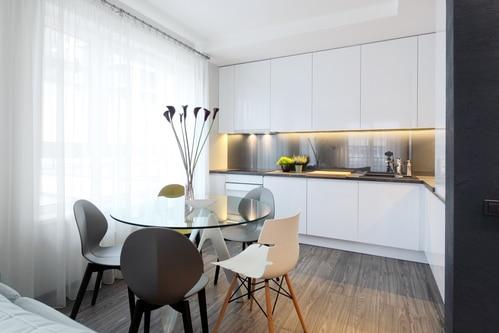 Kuchnia Otwarta Na Salon W Bloku