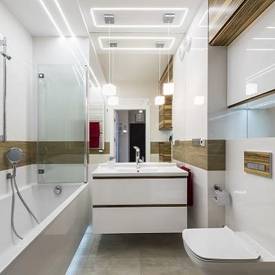 Oświetlenie Do łazienki Jak Je Odpowiednio Dobrać Leroy
