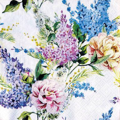 Serwetki Spring lilac 33 x 33 cm 20 szt.