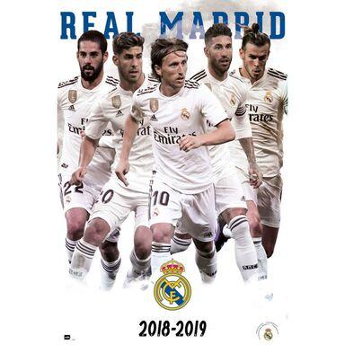 Plakat REAL MADRID 2018/2019 61 x 91.5 cm