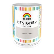 Farba wewnętrzna DESIGNER COLOUR 5 l Cotton Candy BECKERS