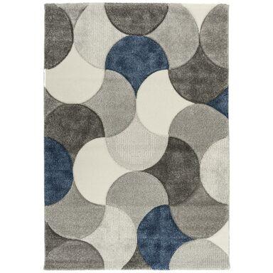 Dywan DAISY szaro-niebieski 160 x 230 cm