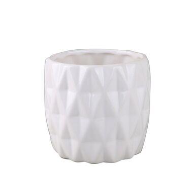 Osłonka ceramiczna 11.5 cm biała
