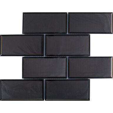 Mozaika METRO BIG BLACK 29.8 x 29.8 EUROCERAMIKA
