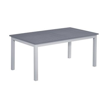 Stół ogrodowy VENOSA 100 x 174/274 cm aluminiowy