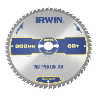 Tarcza do pilarki tarczowej 300MM/60T/30 śr. 300 mm  60 z IRWIN CONSTRUCTION