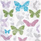 Serwetki SOFT BUTTERFLY PAW DECOR COLLECTION