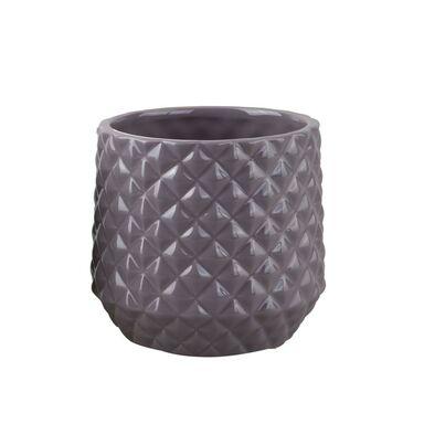 Osłonka ceramiczna 11 cm brązowa PIK