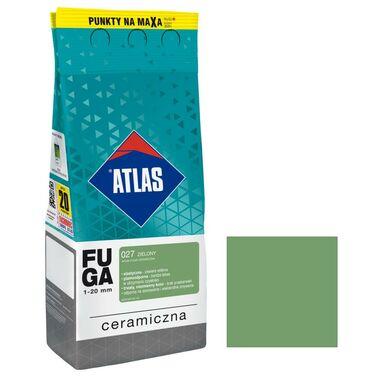 Fuga ceramiczna 027 zielony 2 kg ATLAS