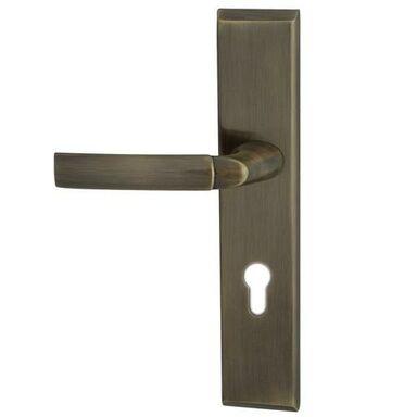 Klamka do drzwi zewnętrznych lewych Space patyna Domino