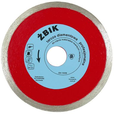 Tarcza diamentowa 125 x 22.2 mm ŻBIK IN CORPORE