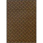 Dywan TRIFOST granatowo-złoty 133 x 190 cm