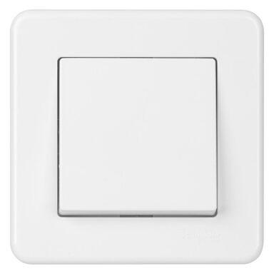 Włącznik schodowy LEONA  Biały  SCHNEIDER ELECTRIC