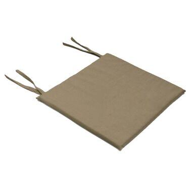 Poduszka na krzesło MIA brązowa 40 x 40 x 2 cm