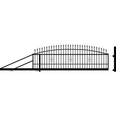 Brama przesuwna lewa PALERMO 400cm POLARGOS