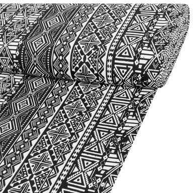 Tkanina na mb TRIBAL  szer. 140 cm