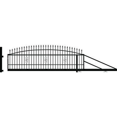 Brama przesuwna prawa PALERMO 400cm POLARGOS