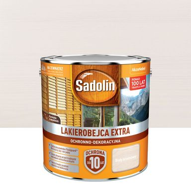 Lakierobejca do drewna Extra 2.5 l Biały kremowy Sadolin