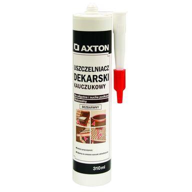 Uszczelniacz dekarski bitumiczny Bezbarwny 310 ml AXTON
