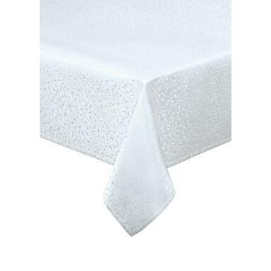 Obrus na stół Luca biały 140 x 220 cm