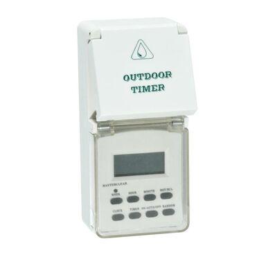 Programator czasowy ZEWNĘTRZNY IP44 DT06 DPM SOLID