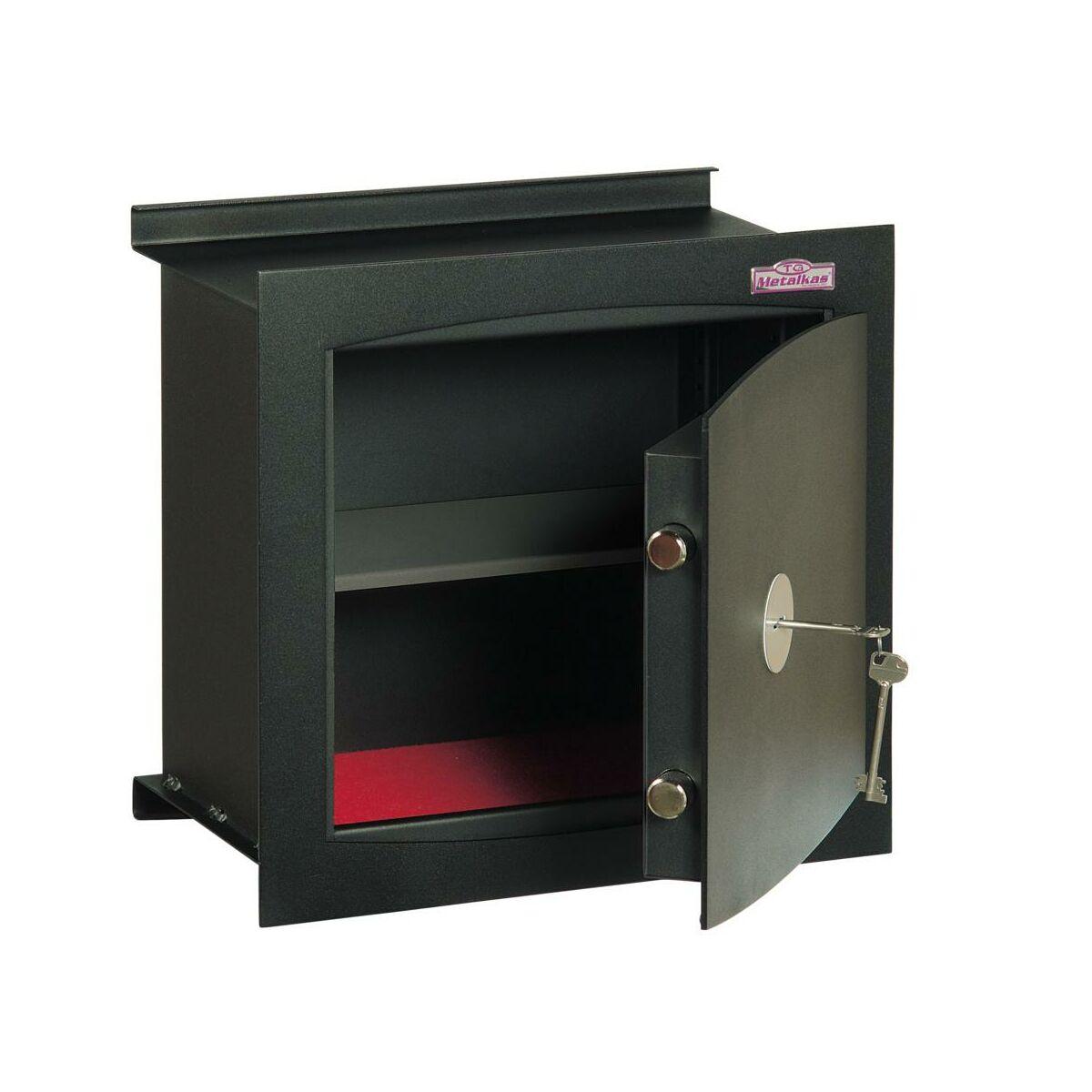 sejf do wmurowania tg 3scl classic cienny metalkas. Black Bedroom Furniture Sets. Home Design Ideas