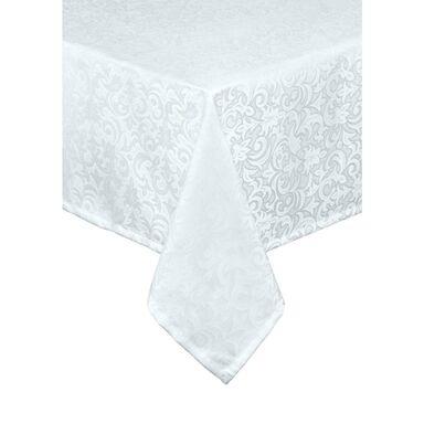 Obrus na stół Carlo biały 140 x 220 cm