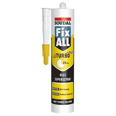 Klej hybrydowy FIX ALL TURBO 290 ml SOUDAL
