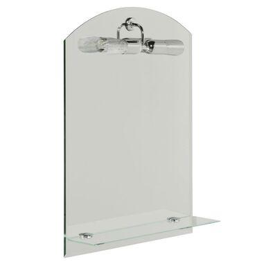Lustro łazienkowe z oświetleniem kinkietowym MERLIN 50 x 70 DUBIEL VITRUM