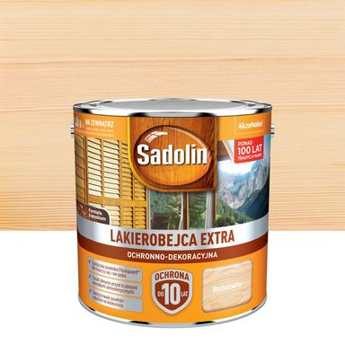 Lakierobejca do drewna Extra 2.5 l Bezbarwny Sadolin