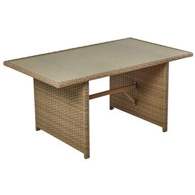 Stół ogrodowy PALERMO 140 x 80 cm NATERIAL