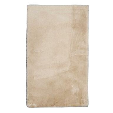 Dywan pluszowy shaggy RABBII beżowy 60 x 100 cm