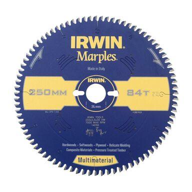 Tarcza do pilarki tarczowej 250MM/84T/30 śr. 250 mm  84 z IRWIN MARPLES MULTIMATERIAL