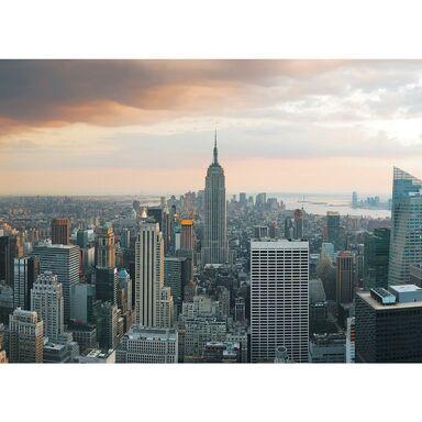 Fototapeta NEW YORK W CHMURACH 104 x 152 cm