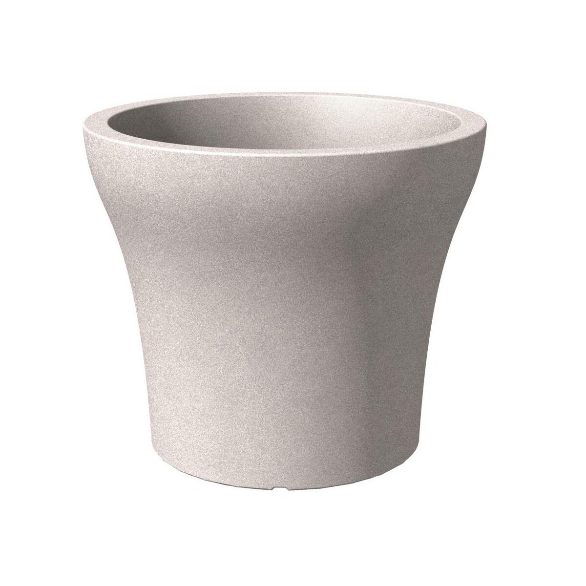 doniczka taupe granit scheurich sprawd opinie w leroy merlin. Black Bedroom Furniture Sets. Home Design Ideas