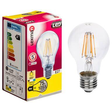 Ar wka led filament e27 1055 lm lexman ar wki led w for Led sottopensile leroy merlin