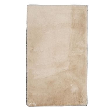 Dywan pluszowy shaggy Rabbii beżowy 80 x 140 cm