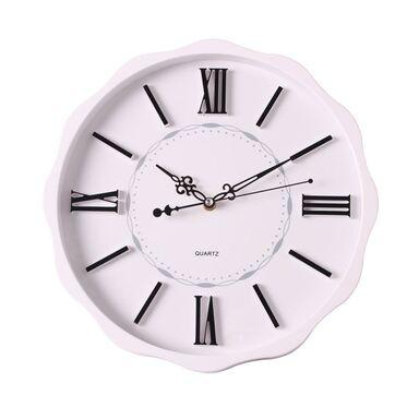Zegar ścienny Tarta śr. 35 cm biały