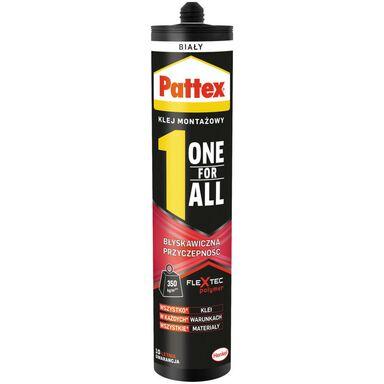 Klej montażowy ONE FOR ALL 440 g błyskawiczna przyczepność PATTEX