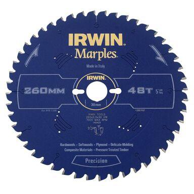 Tarcza do pilarki tarczowej 260MM/48T M/30  260 mm zęby: 48 szt. IRWIN MARPLES