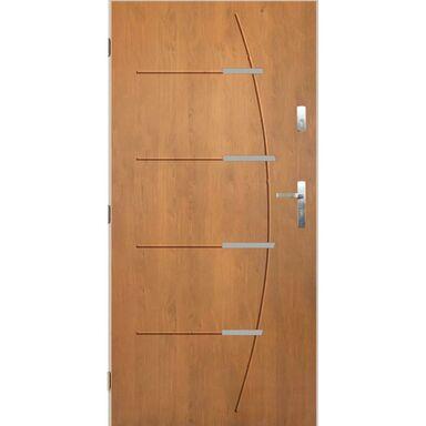 Drzwi wejściowe BORDEAUX Dąb winchester 90 Lewe PANTOR