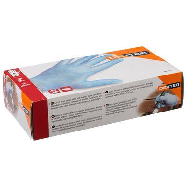 Rękawice nitrylowe PP101001-1-9L  r. 9  DEXTER