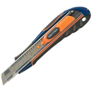Nożyk techniczny 18 mm z ostrzem prostym DEXTER