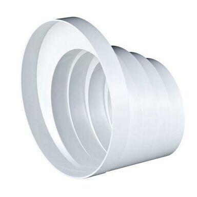 Redukcja wielostopniowa kanału wentylacyjnego okrągłego OKRĄGŁA 150  - 100 mm EQUATION