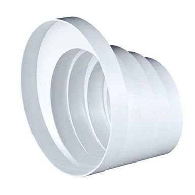 Redukcja wielostopniowa kanału wentylacyjnego okrągłego OKRĄGŁA 150 / 125 / 120 / 110 / 100 mm EQUATION