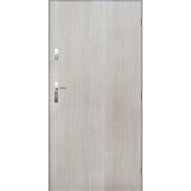 Drzwi zewnętrzne stalowe GRENOBLE Dąb sonoma 90 Prawe PANTOR