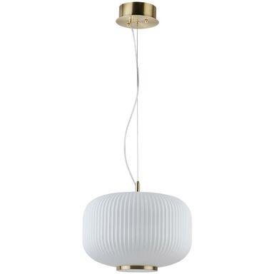 Lampa wisząca Nicki śr. 30 cm mosiądz E27 Oriva Ab