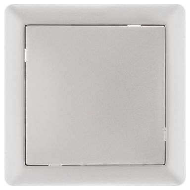 Włącznik krzyżowy SLIM  Srebrny  LEXMAN
