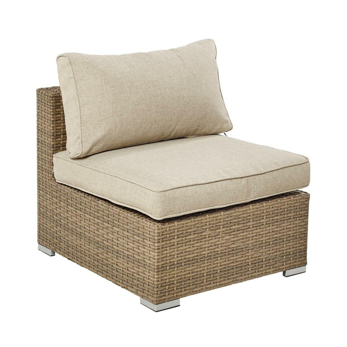 Fotel Ogrodowy Santorini Technorattanowy Brazowy Naterial Krzesla Fotele Lawki Ogrodowe W Atrakcyjnej Cenie W Sklepach Leroy Merlin