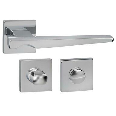 Klamka drzwiowa na rozecie do WC VERTIGO-QR Chrom